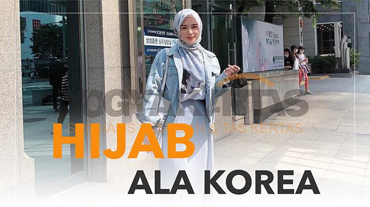 3 Inspirasi outfit hijab ala korea yang lagi happening